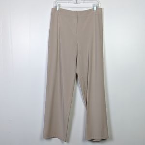 Eileen Fisher Khaki Wide Leg Trouser Size M